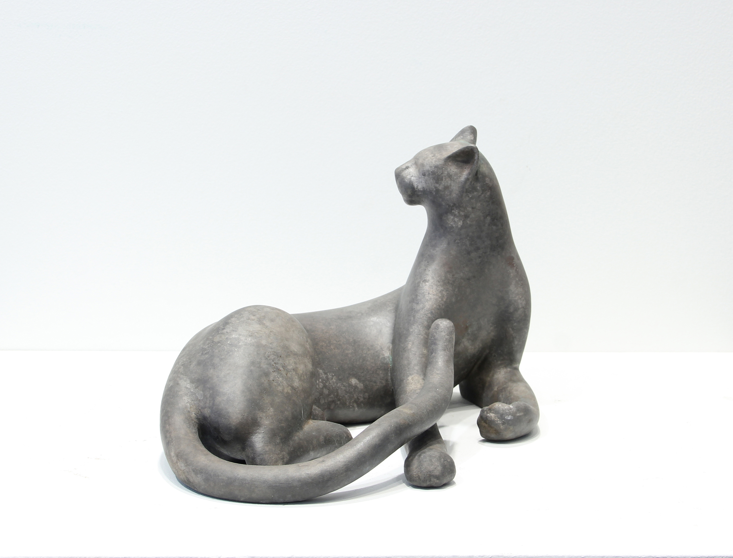 Twisting Cheetah Maquette