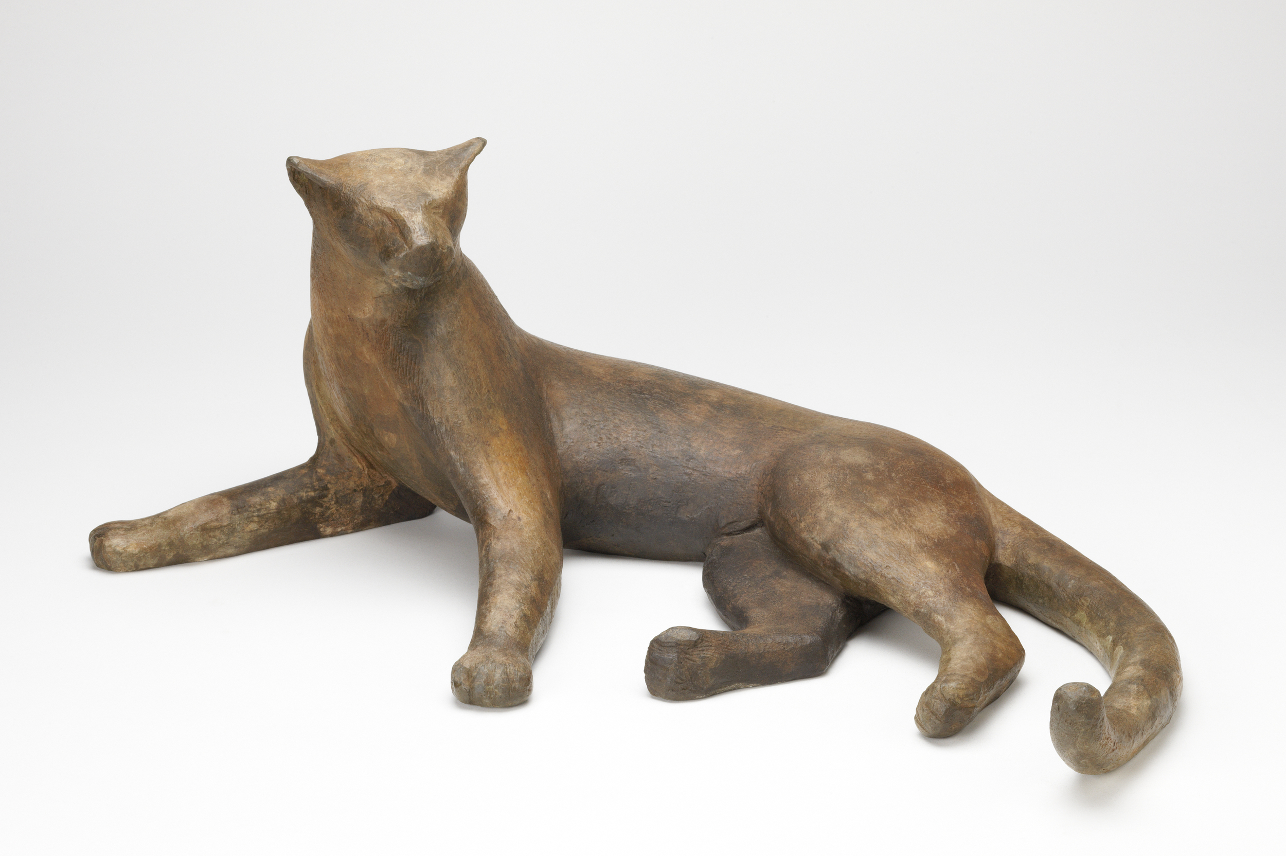 Lying Panther Maquette