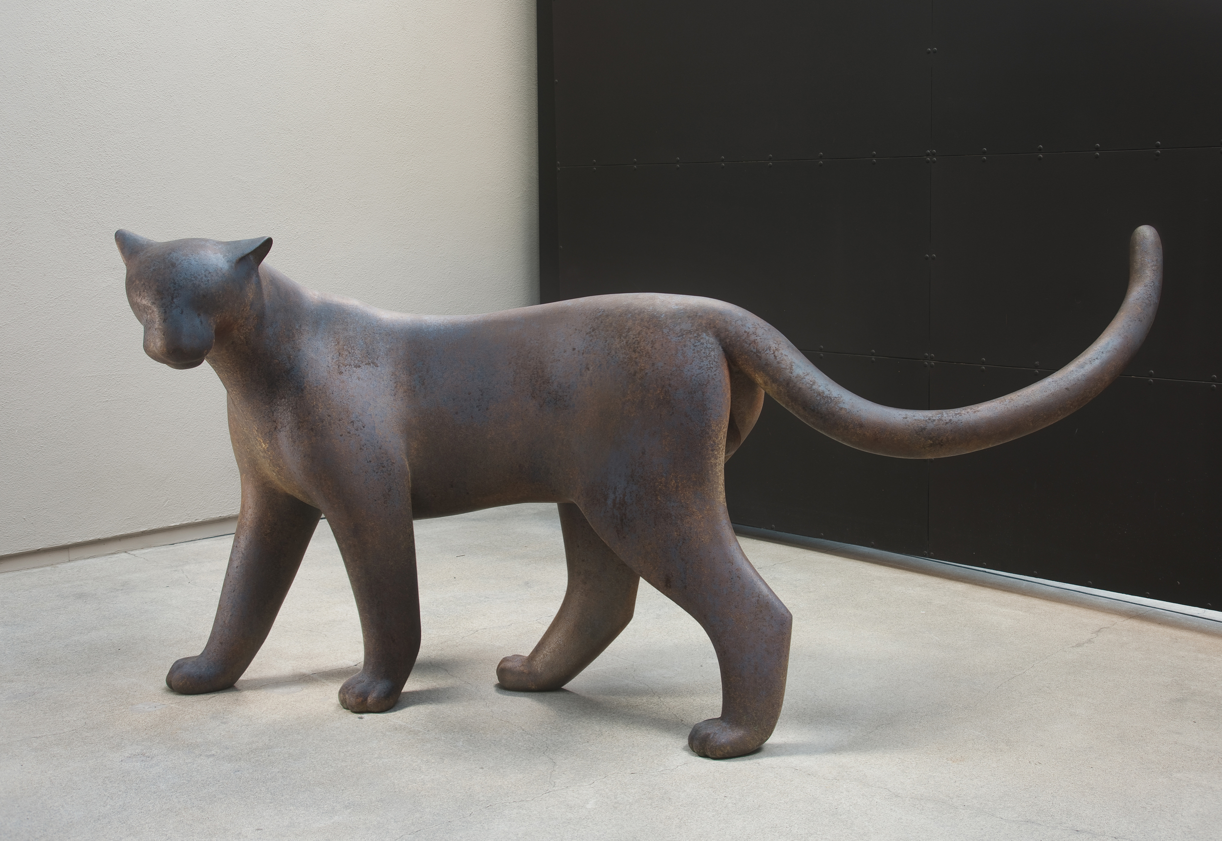 Standing Panther