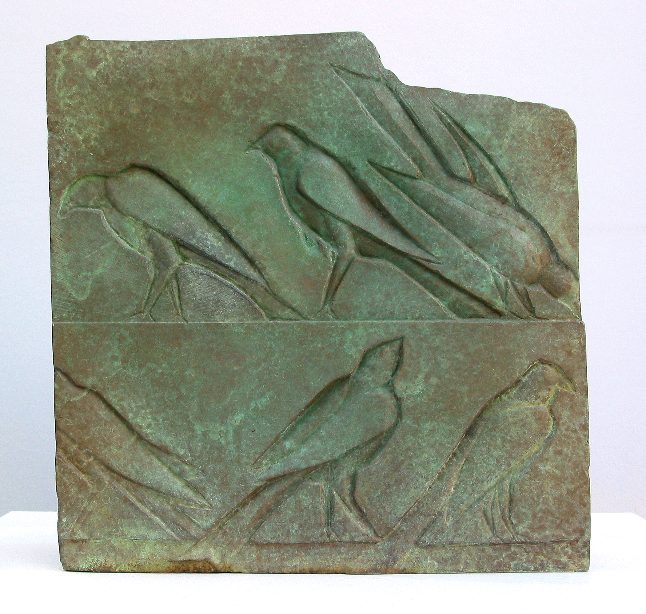 Bronze Bird Relief