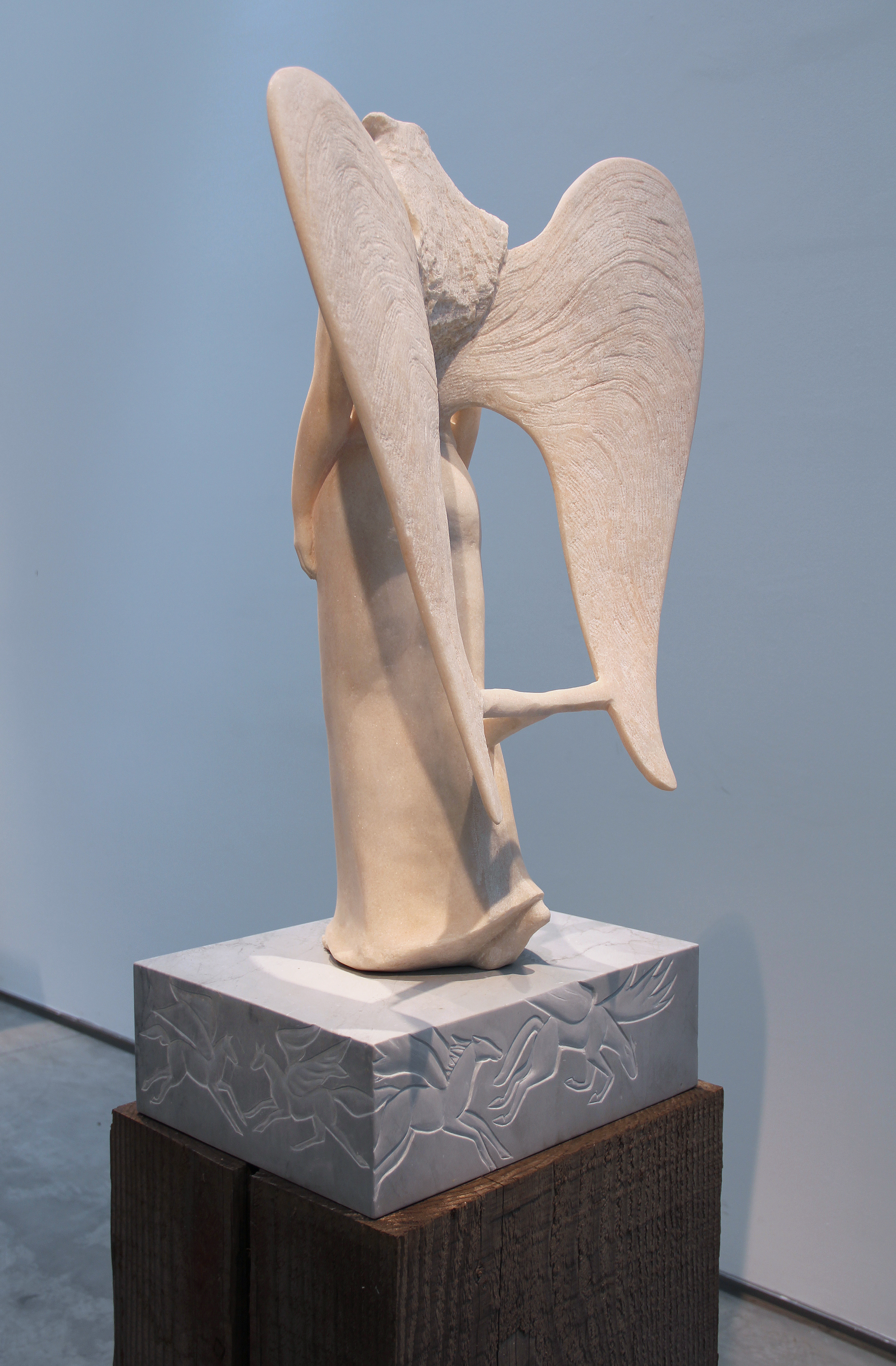 Marble Angel (Detail - Back)