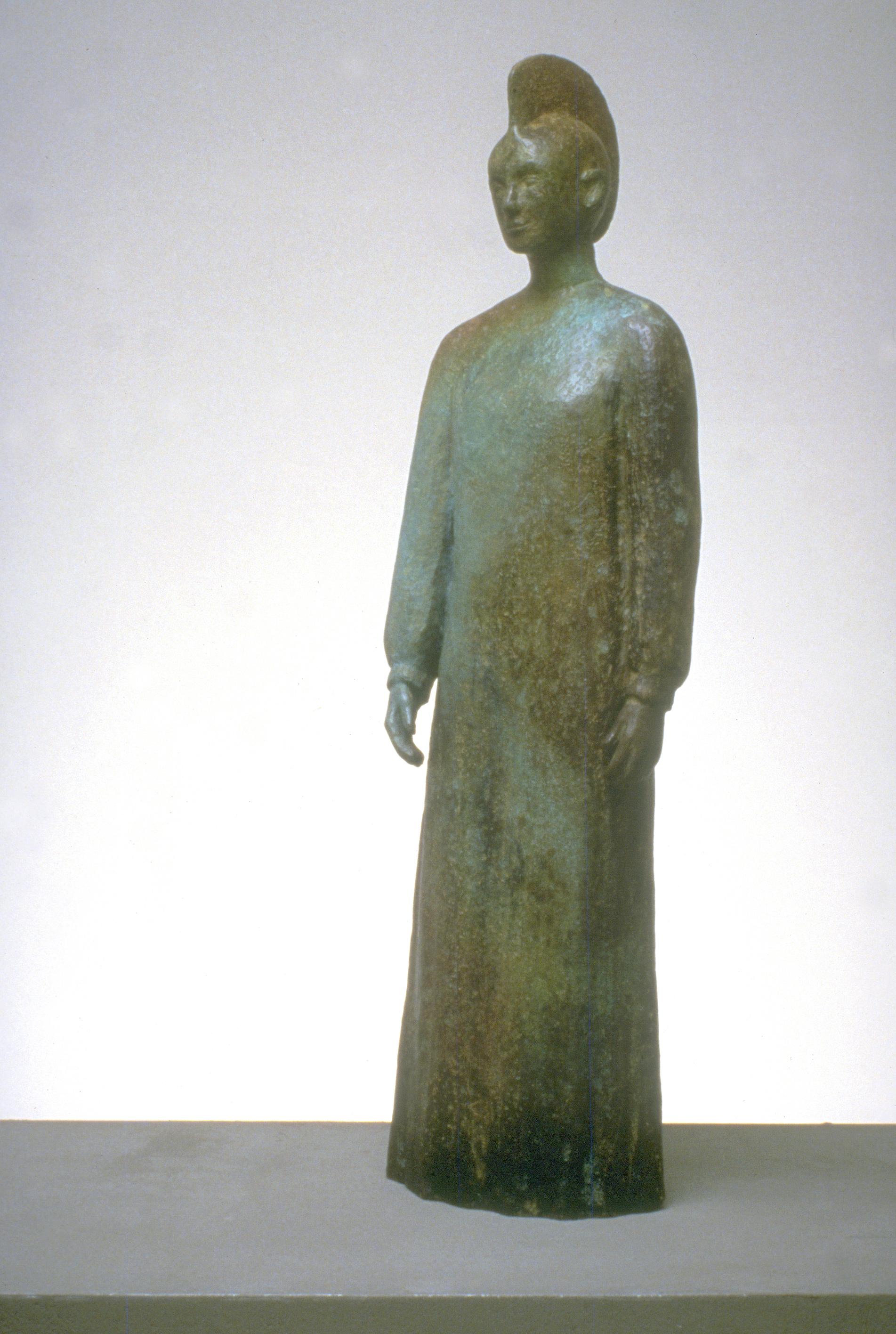 Haniwa Standing Figure (Terpsichore)