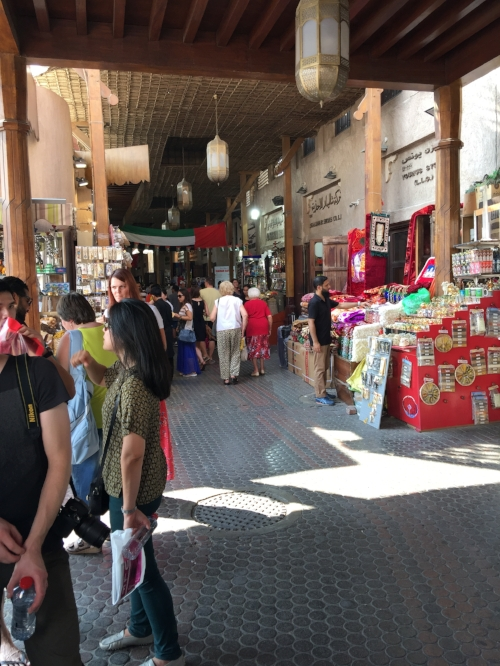 Shopping at the gold & spice souks in Dubai