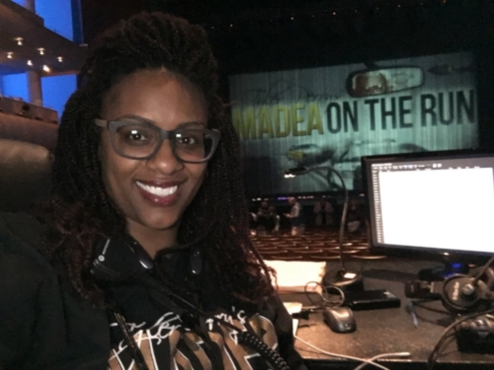 Rona Dana, Stage Manager - Madea on the Run Tour