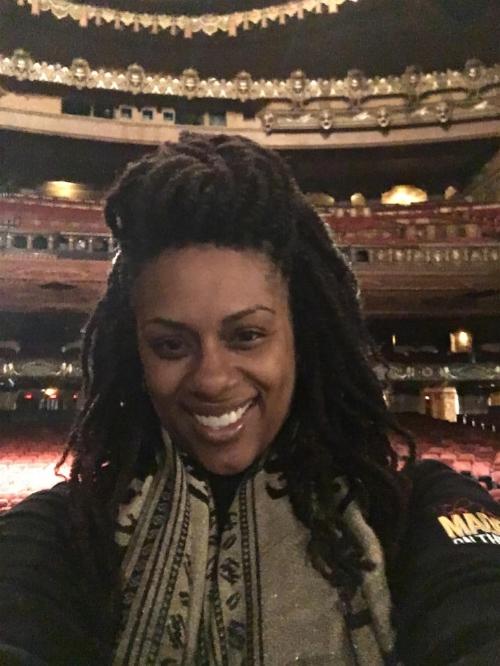 Rona Dana in her hometown. Fox Theater in St. Louis, MO - Madea on the Run Tour