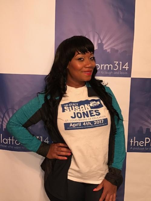 Susan Jones President of the St. Louis Board of Education