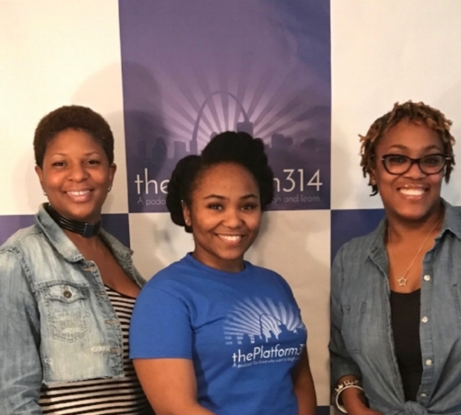 (left to right) Dawn, Marissa, and Starr