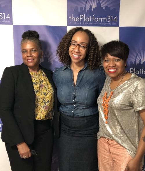 From L to R: Lori Jackson, Dr. Raegan Johnson, and NIcci Roach