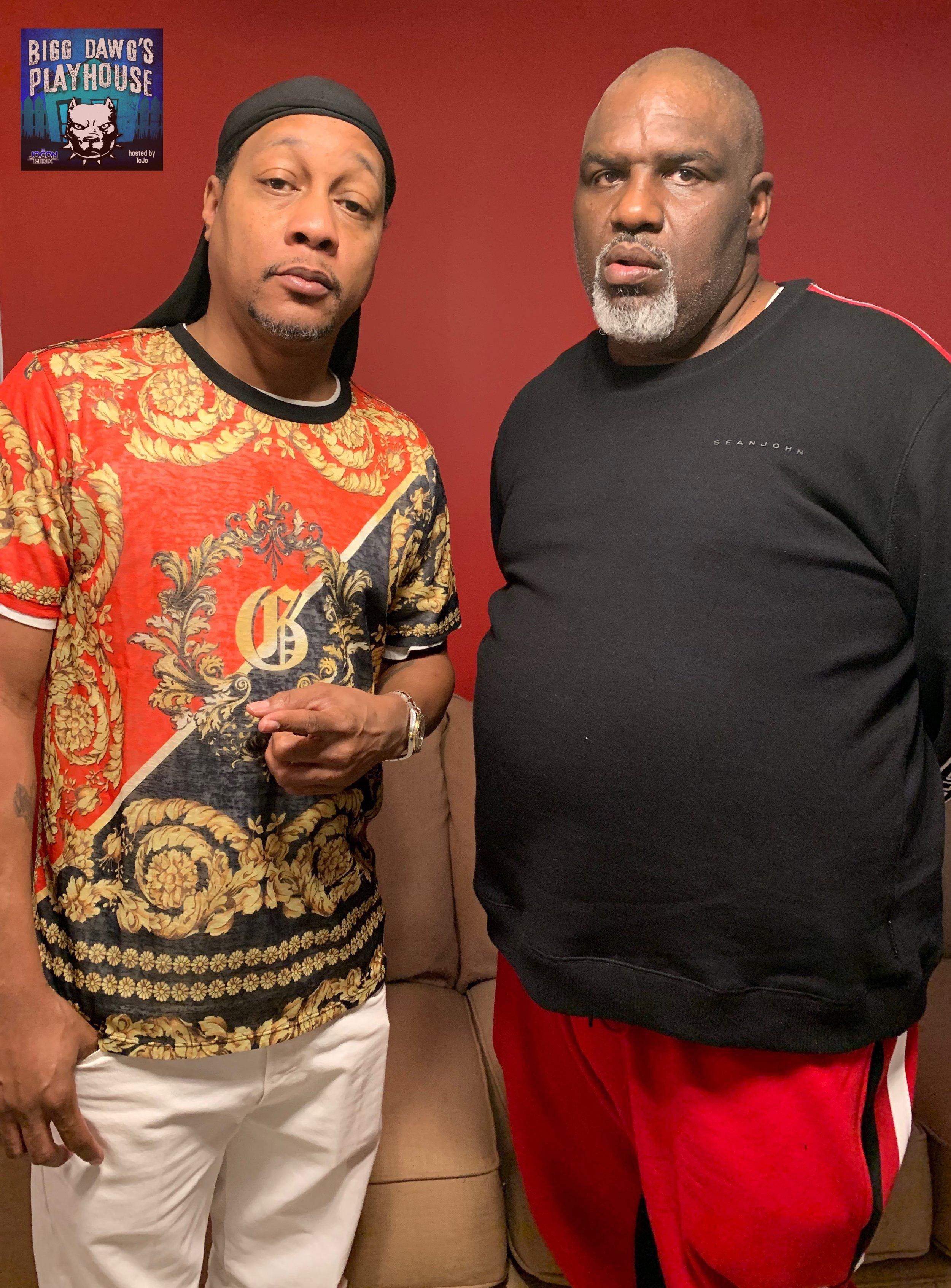 L to R: DJ Quik and Tojo