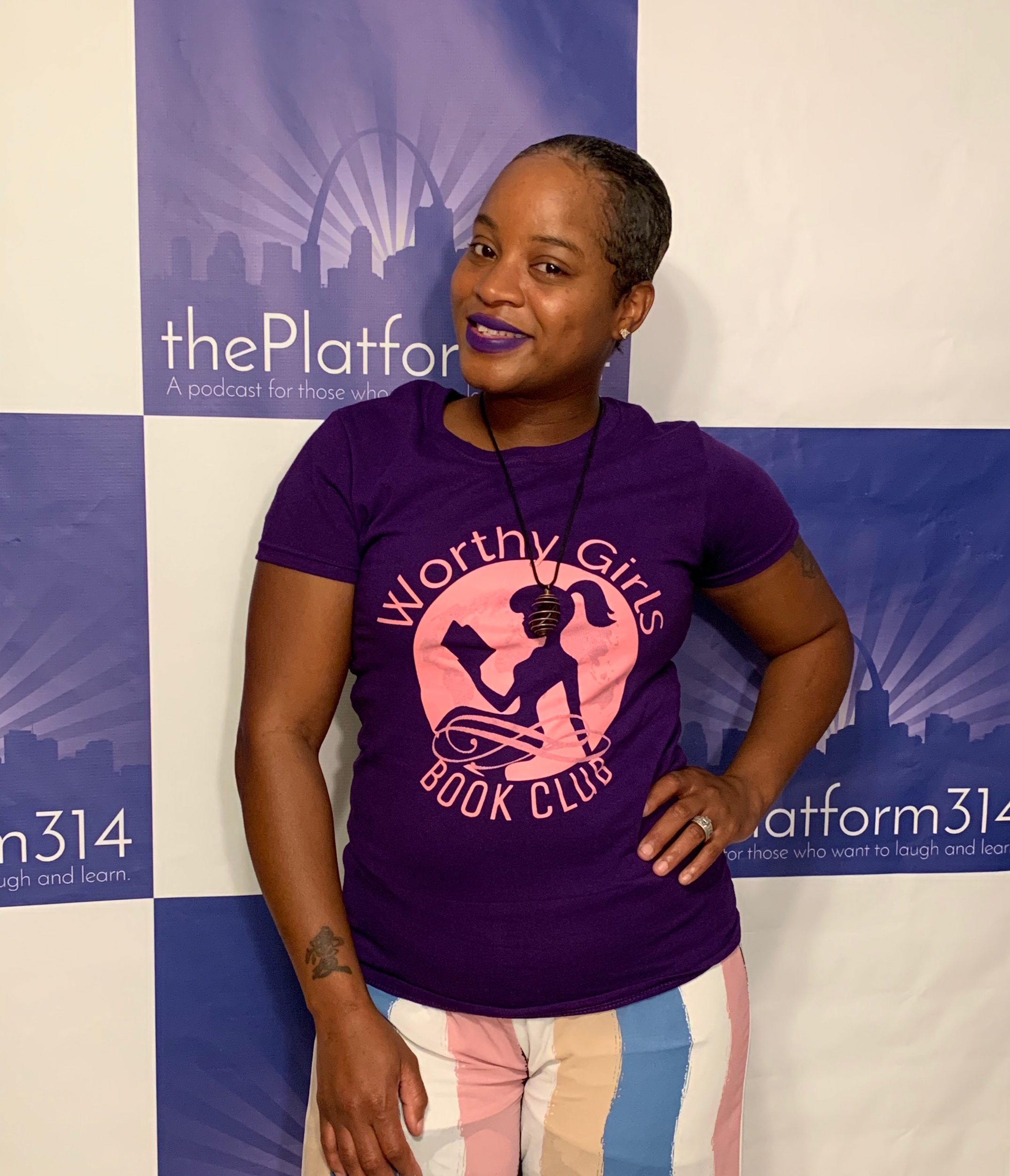 Micai Easley Founder of Woman's Worth Book Club