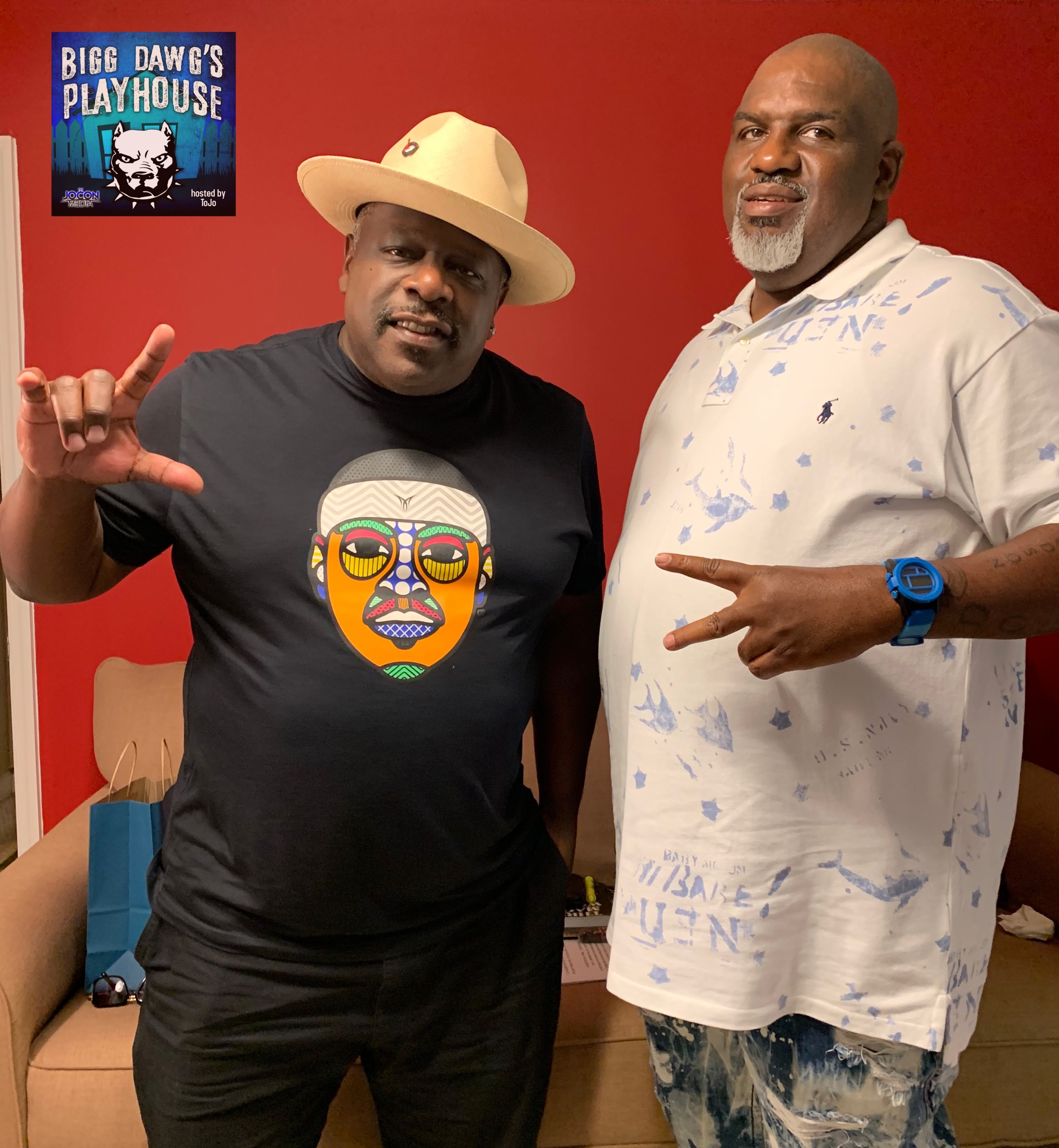 L to R: Cedric The Entertainer and Tojo