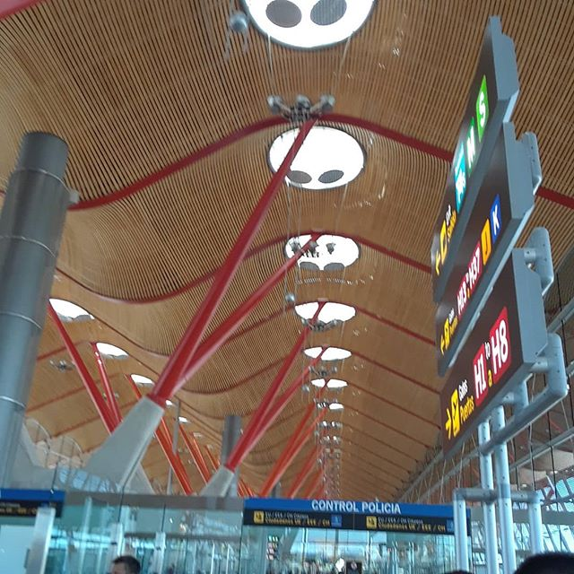 Stopover on the way to Marrakech Beautiful airport and lovely Iberia lounge.