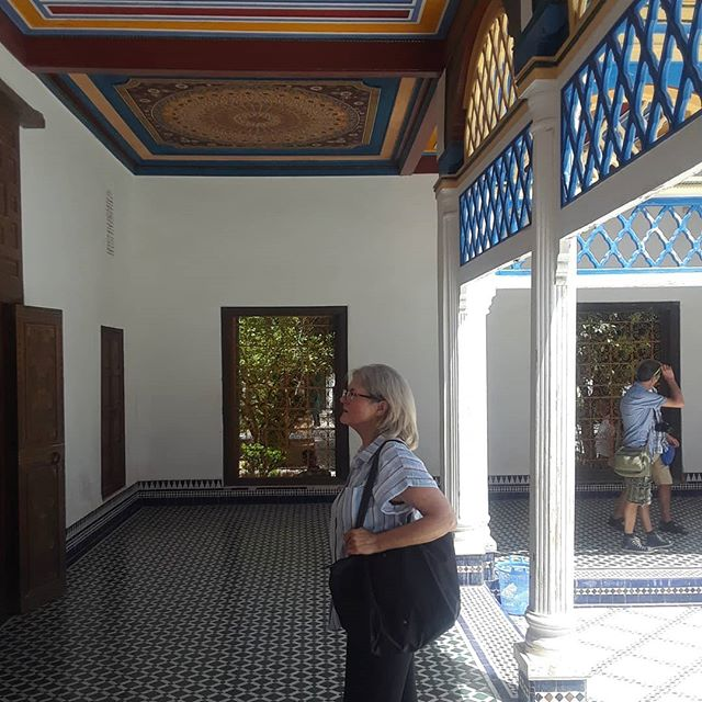 Beautiful Bahia Palace a must see in Marrakech