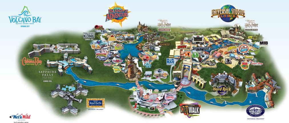 Visit the official website for more information:  Universal Studios