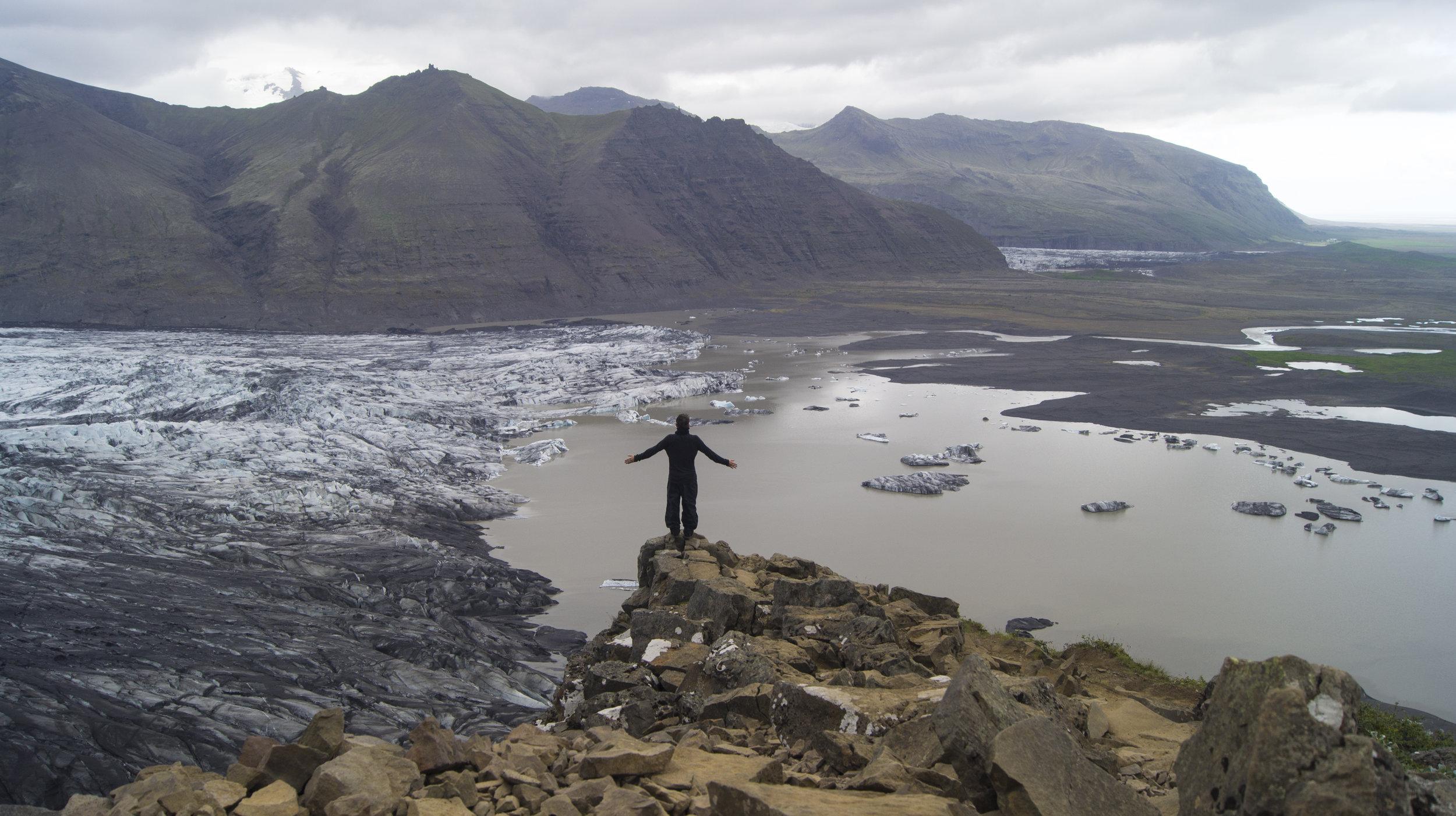 Vatnajökull GLACIER, ICELAND                                                                                                  PHOTOGRAPHY: @DYLANMOREHEAD