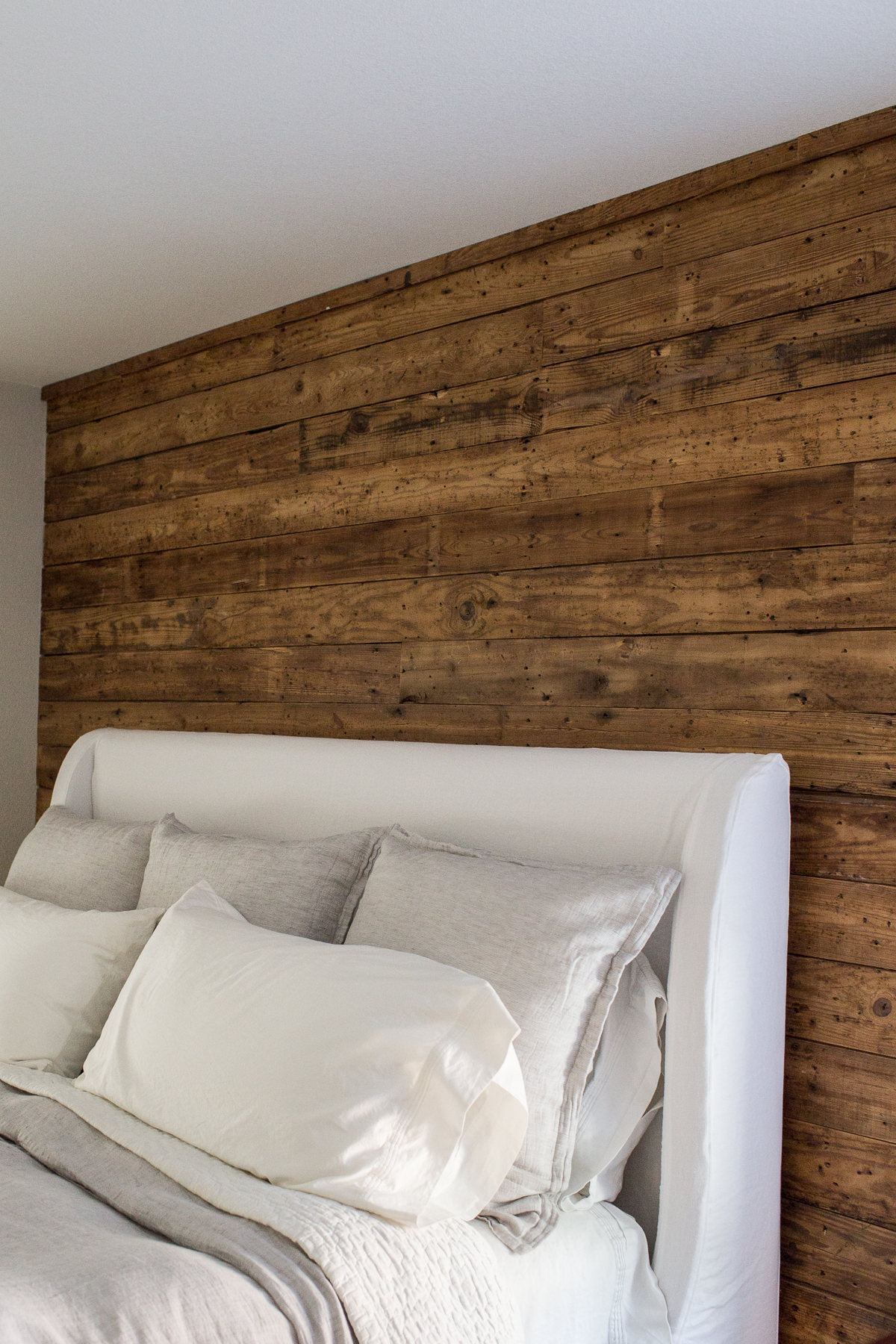 Salvage Wood Accent Wall
