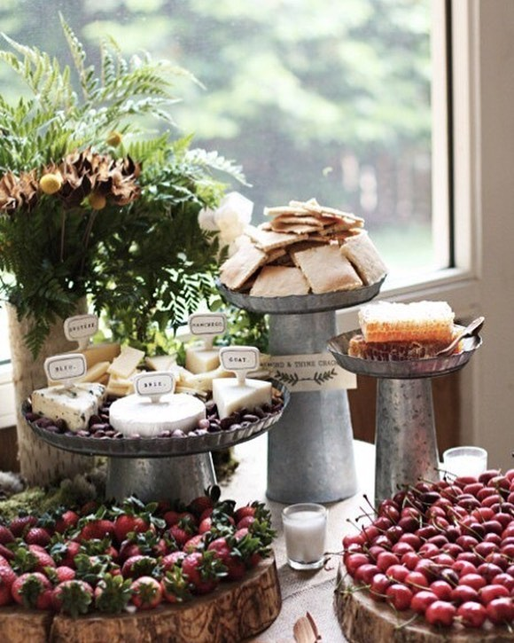 We're got kiddos starting school all around North Texas, so you know what that means? Time to plan for the Holidays! Just kidding....not so much, actually. Ran across this party display and recognized our galvanized metal cake stands! We will not be re-ordering these, so come in and grab a few for your holiday table! Open Tuesday-Saturday 10am-5pm. #mckinneytexas #historicmckinney #setthetable