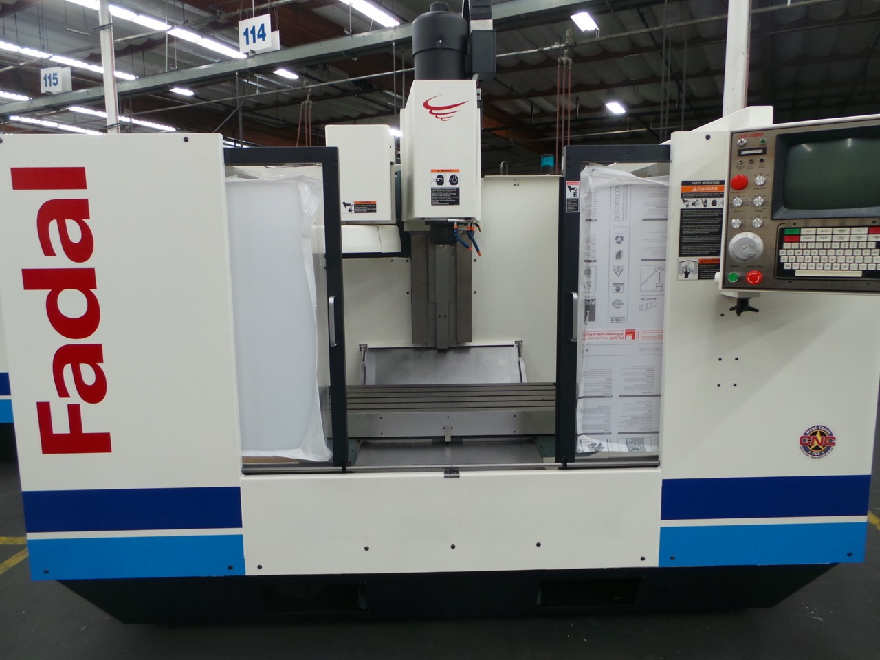 2017 Fadal 4020 Remanufactured Vertical Machining Center
