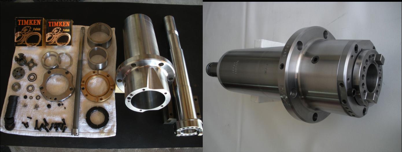 Each Spindle is rebuilt using new spindle bearings