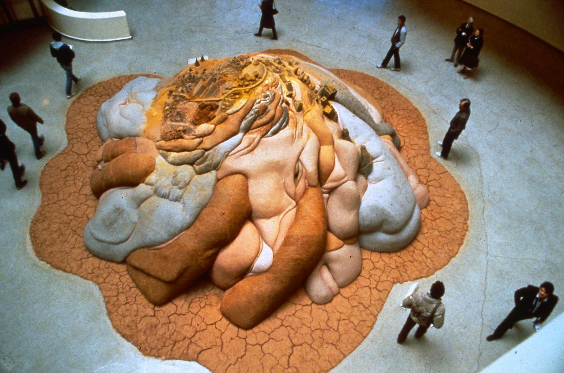 'Age', Guggenheim Museum Rotunda.