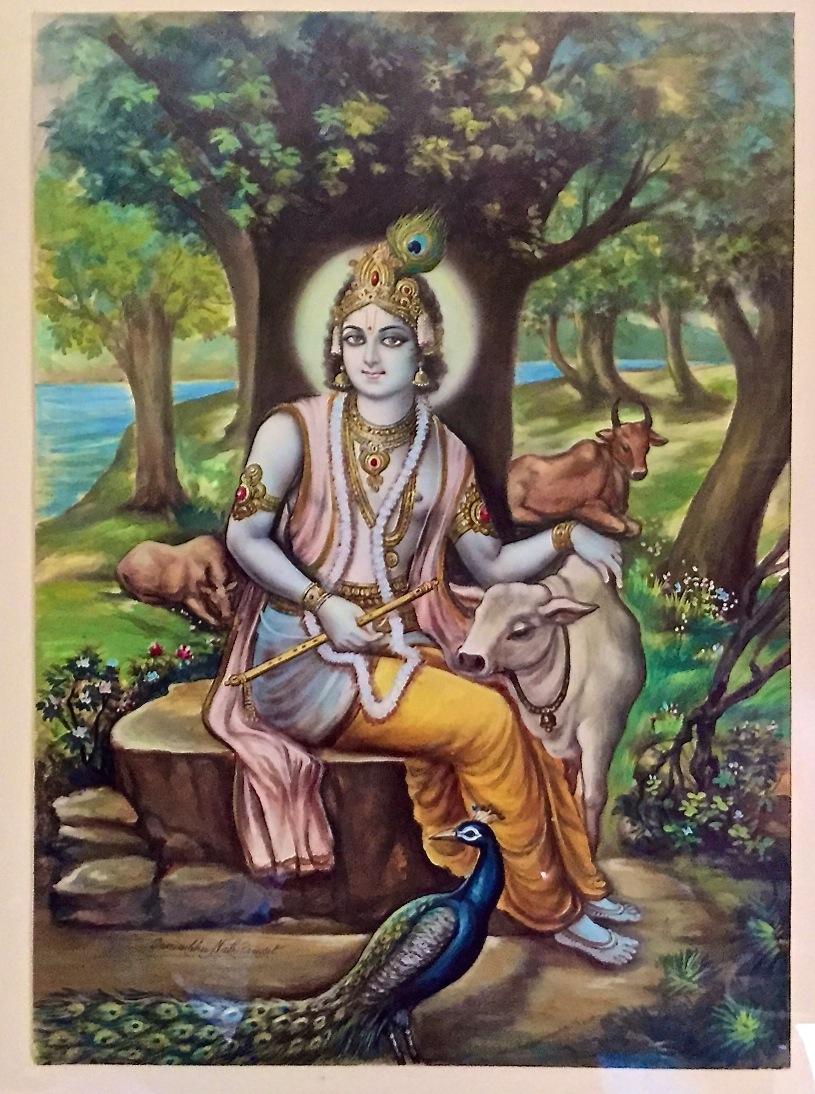 Krishna, by Swayambunath Pandit. 1989