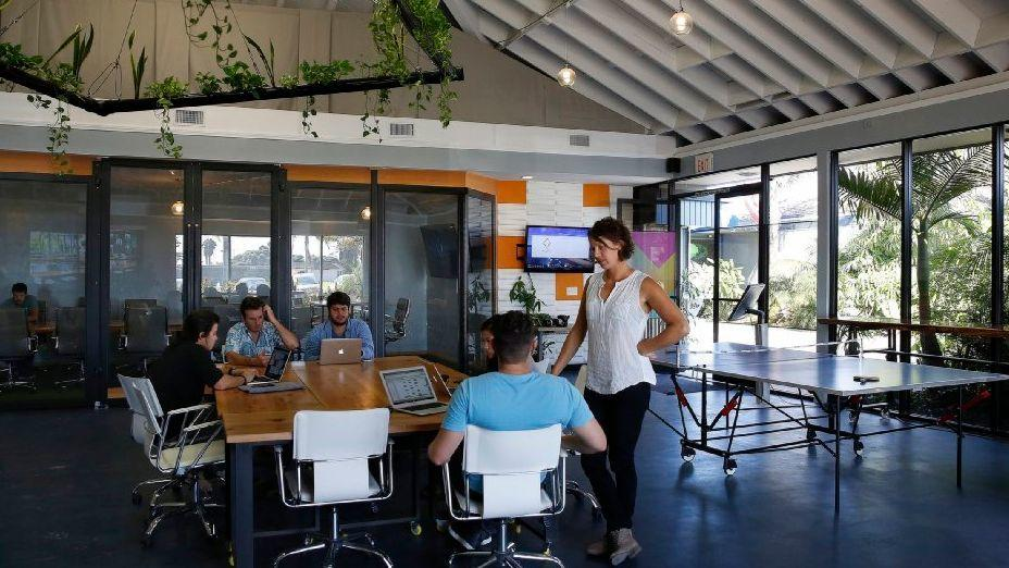 The Point has an open floor plan and bay views for companies wanting to get out of their usual office space for projects, training or team building.