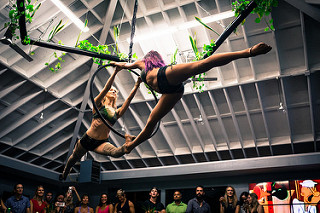 Trapeze at The Point Holiday Party Venue.jpg