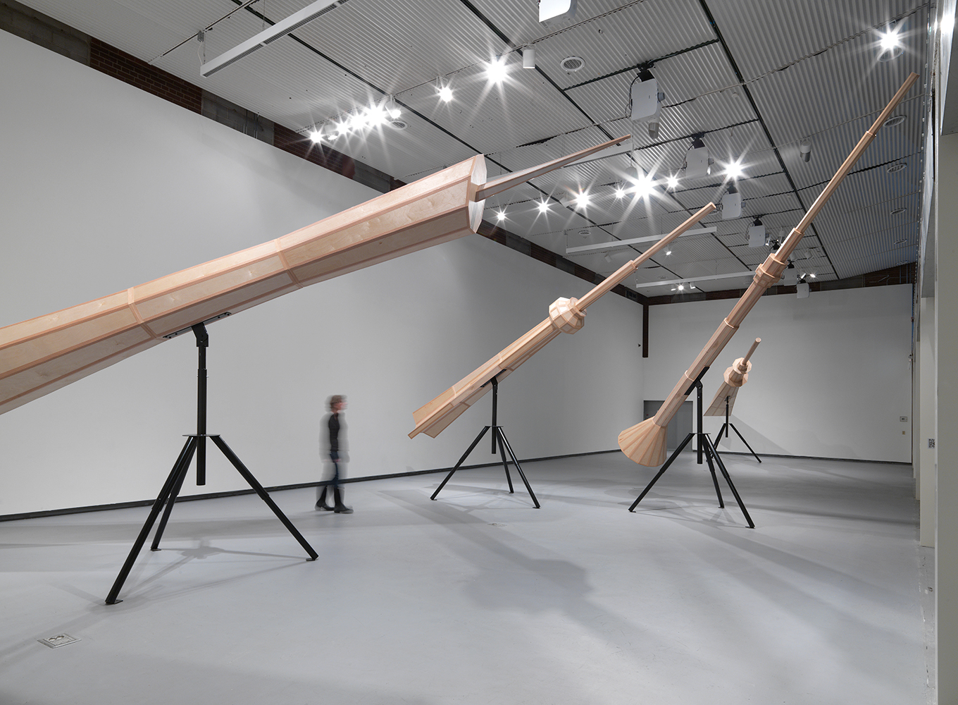 Scenic Overlook  by Susan Giles at the Hyde Park Art Center; Chicago, IL; 2014;  role: artist assistant, aided in fabrication and designed tripod stand