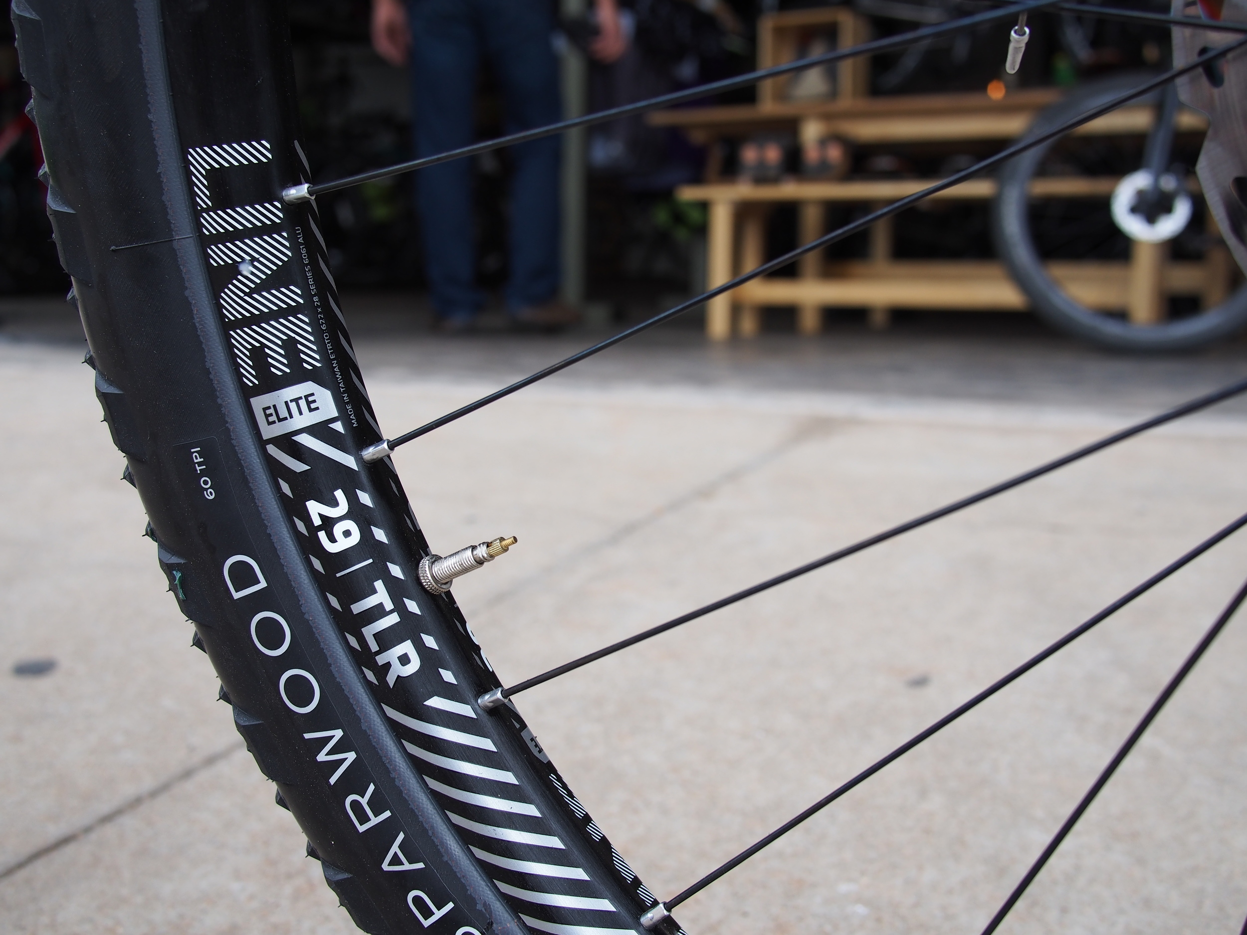 New Bontrager Line 29 wheel set is light, tubeless, wide, and totally rad.