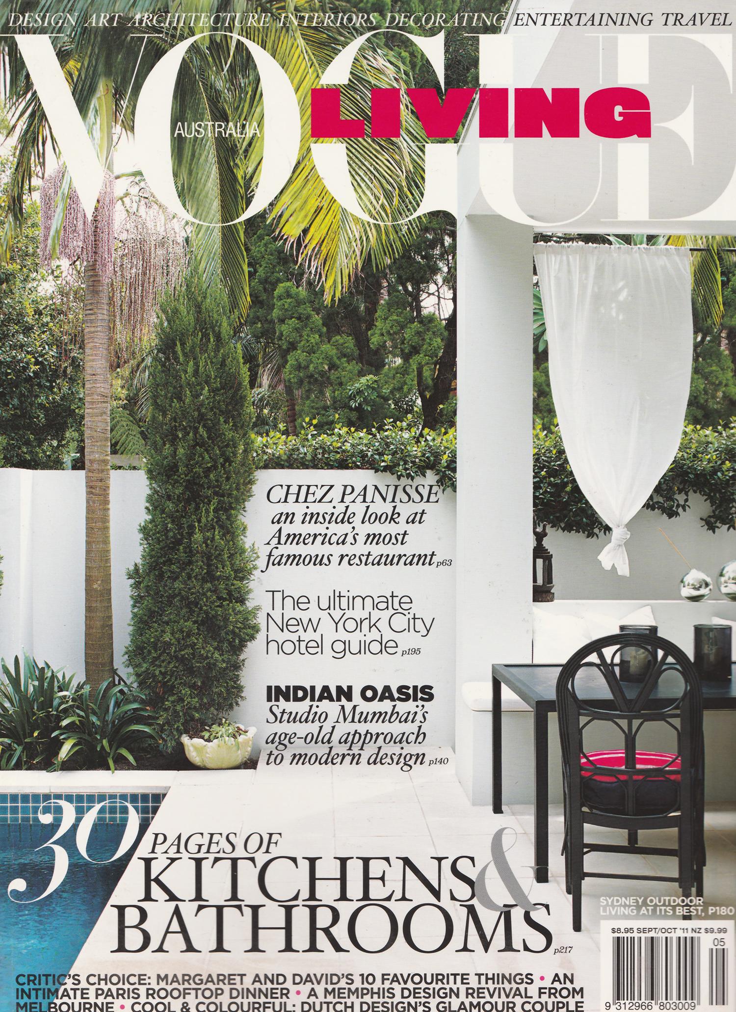 Vogue Living Sept-Oct 2009
