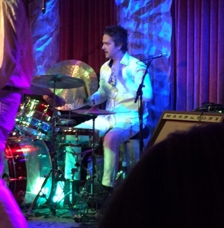 See Fran float the drums in person at the next Straw Polly show. Follow Straw Polly on  Facebook