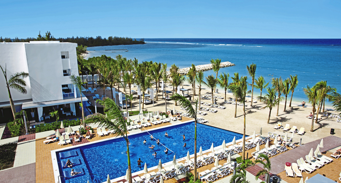 Riu Palace hotel overlook