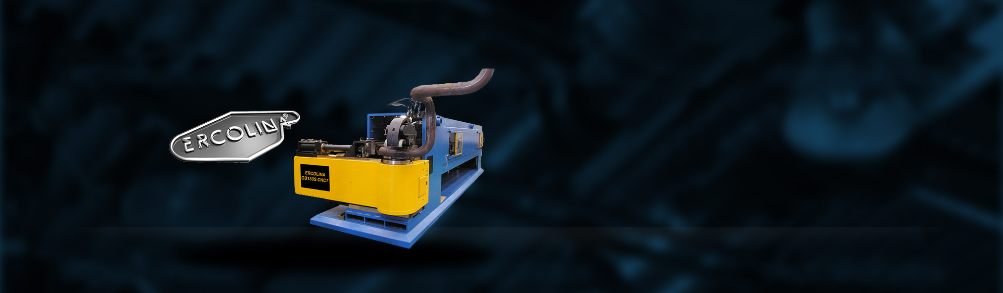 ERCOLINA CNC Giga Mandrel Benders    ERCOLINA's Giga Bender series of CNC mandrel benders incorporates the patented KST clam shell hydraulic clamping system. This system eliminates tube slippage and reduces the bending head size. The ERCOLINA Giga bender range is ideal for industrial bending of tube, pipe, square and rectangular profiles to centre line radius as small as 1.5 x diameter.