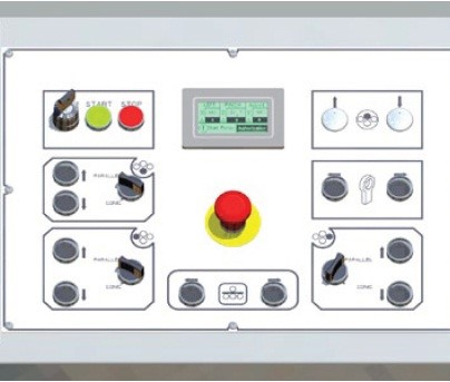 Digital Readout  As standard the DURMA range of 4—roll plate rolling machines have a digital readout display. The operator can quickly and easily view the position of up to 6 moving axes.