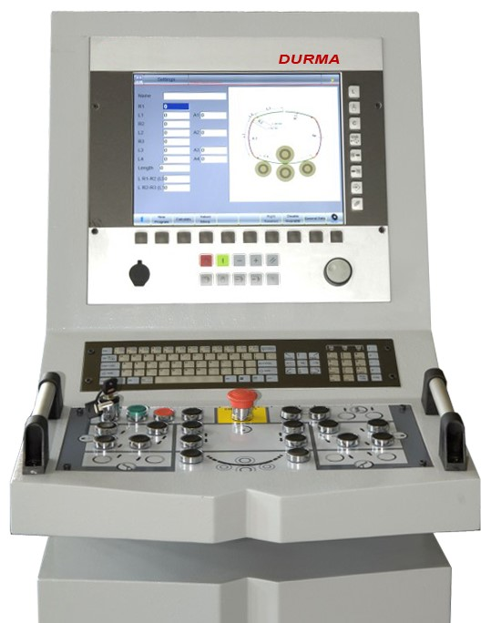 CNC Control S500 - Colour Graphics   Complex bending When complex bending is required e.g. elliptical shapes, you need to choose this controller.