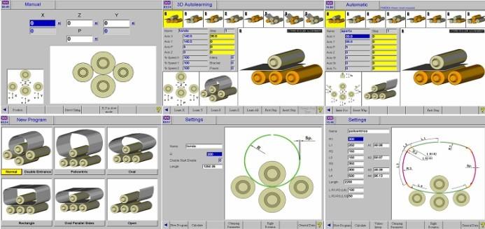 CNC Control S500 - Colour Graphics