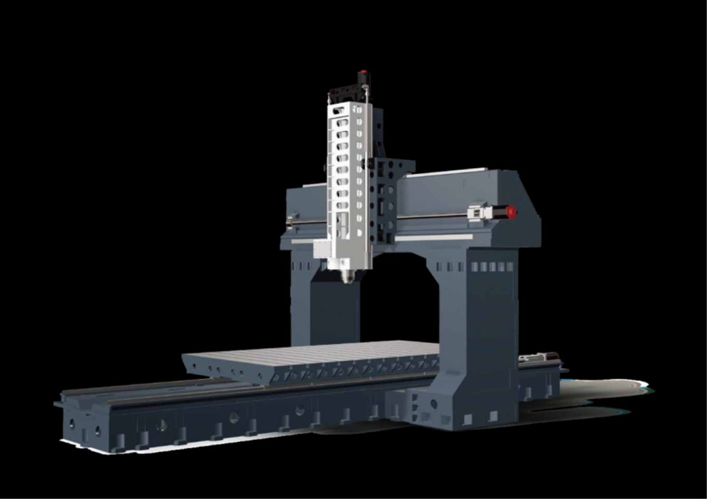 Linear Way  You can choose up to a maximum of three ball type linear ways, depending on the model size. So you can handle the heaviest table loads for large molds and components whilst maintaining absolute precision.