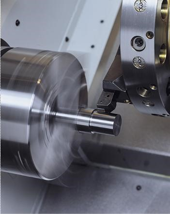 High Efficiency Main Spindle  - The powerful 26kW main spindle motor provides a huge 322N/m of torque - High & Low windings  - High Speed 4200/438rpm - Low Speed 1500/292rpm