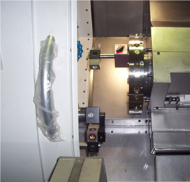 Excellent Accuracy  - Accuracy in accordance to the International Organisation for Standards protocol ISO 230-2 - Full stroke positioning 0.01mm - Full stroke repeatability 0.005mm - Actual machining results - Roundness 0.7 µM, Surface finish Ra0.2 µM