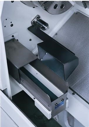 Part catcher         - Arm type  - With part conveyor  - Left side discharge - Max part diameter 65mm - Max part length 160mm