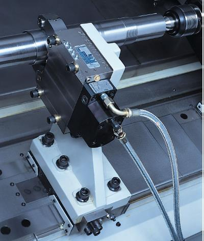 Steady Rest         - Manufactured by AUTOBLOK-SLU-M2 - Self Centring Work System; - Centring range from 8 to 101mm - with Draulic power driven centring and manual movement.