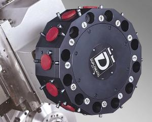 Tool Turret Upgrades  Live Tooling – VDI 40 (Duplomatic)  - 12 station standard - 8 kW - 35 Nm torque - 4,000 rpm - Live tooling & C-axis - Index time 0.52 seconds - Rotation time .06 Sec.