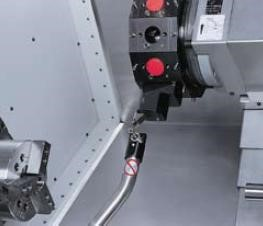 Automation Options Renishaw tool probe   - Programmable - Automatic / Manual operation   Auto door   - Suitable for productivity - The door opens automatically at the end of the machining cycle and closes by pressing on two push buttons to ensure operator safety  - Auto power off