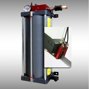 Minimal lubrication device  for air & oil 3l + blade nozzle with 5 points lubrication