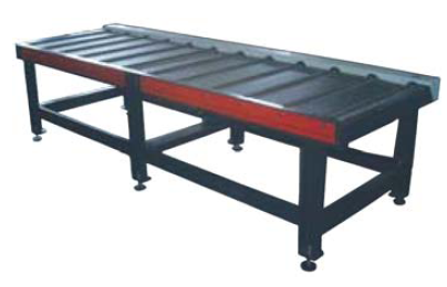 Motorised Feed Table  L = 3000mm  A 3 metre section of motorised feed tables. Suitable for on the in-feed side of the saw. Controlled via the main console