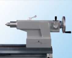 Tailstock Hand Wheel has two speed feed