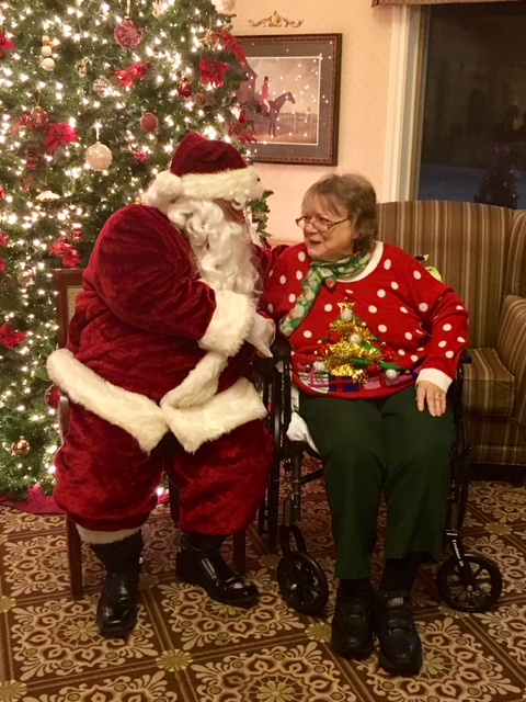 Santa, Tree and Yvonne Hill.jpg