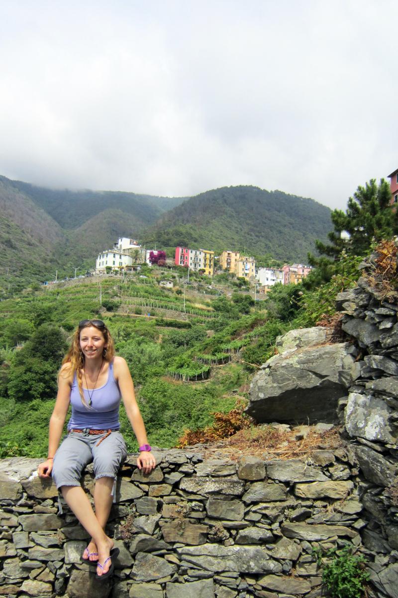 My favorite stroll - Corniglia • Cinque Terre - Italy