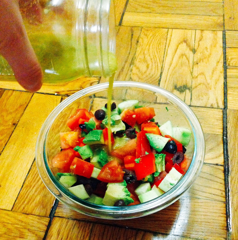 Chopped Summer Vegetable Salad