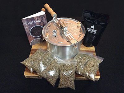 The Home Coffee Roasting Starter Kit is $49.70